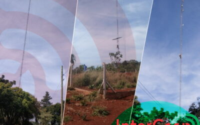 Cooperativa Cainguás interconectando Colonia Cerro Moreno del municipio de Salto Encantado